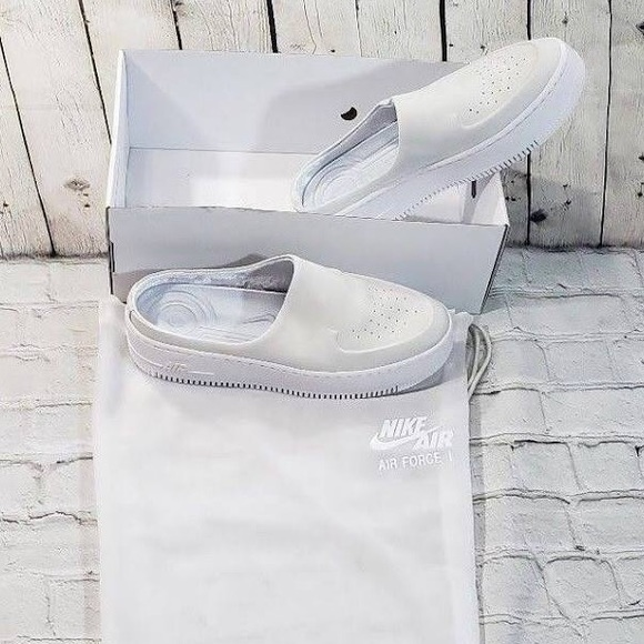 new product 05cad 63ec0 NOT AVAILABLE Nike Air Force 1 Lover XX Suede Mule NWT